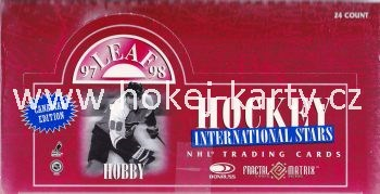1997-98 Leaf International Canadian Hockey Hobby Box