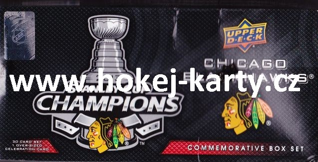 2012-13 UD Chicago Blackhawks Stanley Cup Champions Box Set