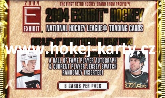 2003-04 Pacific Exhibit Hockey HOBBY Balíček