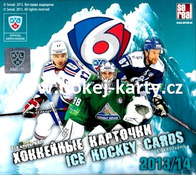 2013-14 KHL Collection Hockey Hobby Box