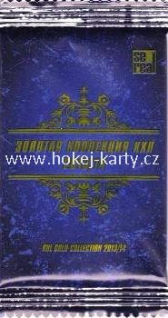 2013-14 KHL Gold Collection Hockey Hobby Balíček