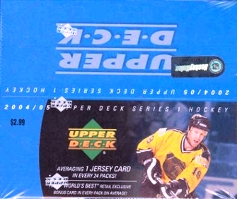 2004-05 UD Series 1 Retail Hockey Box