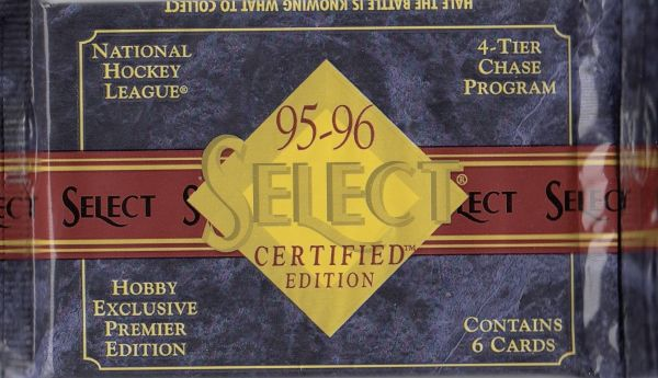 1995-96 Select Certified Hockey HOBBY Balíček