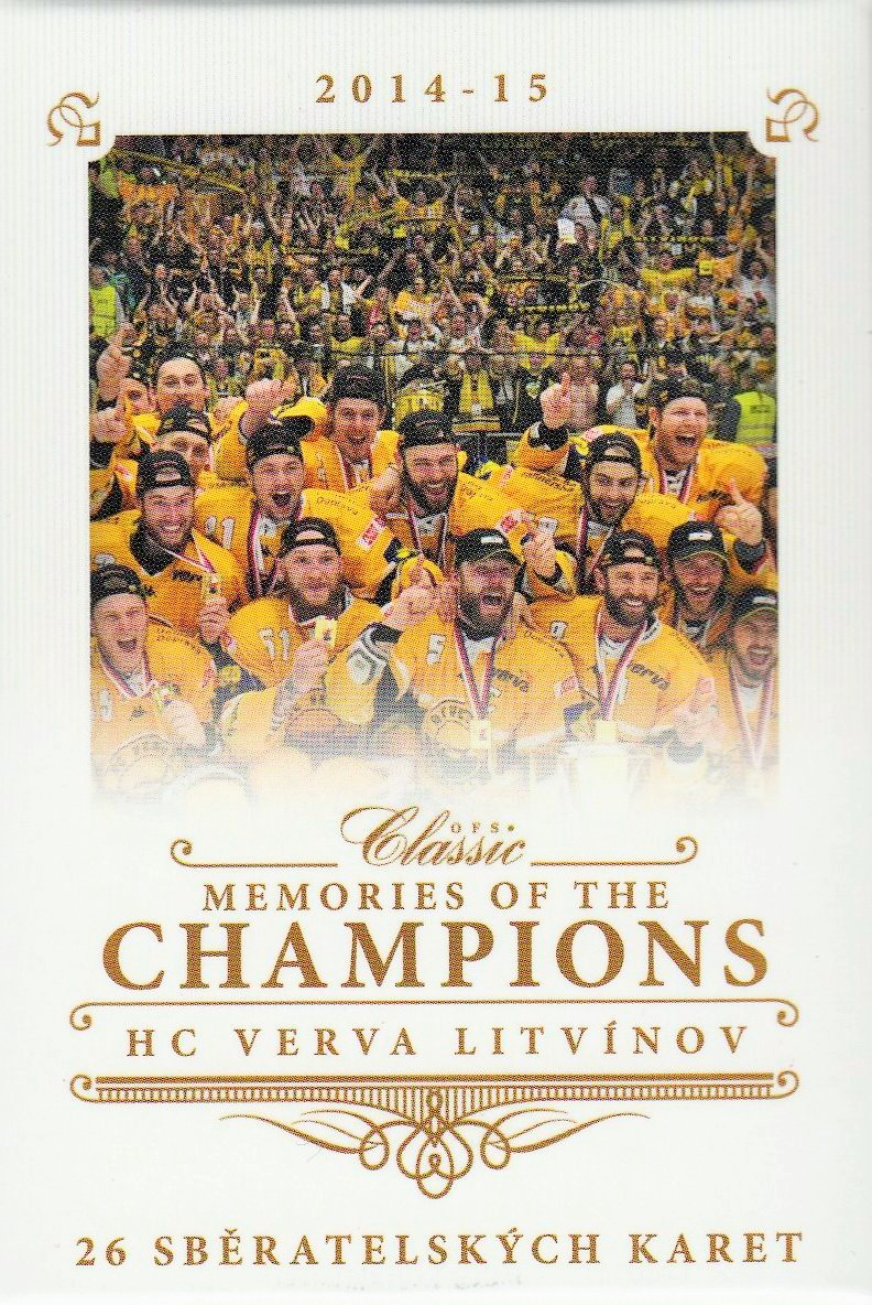 2014-15 OFS Memories of the Champions MINI BOX - mistři HC LITVÍNOV