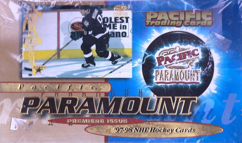 1997-98 Pacific Paramount Hockey Premiere Issue Box