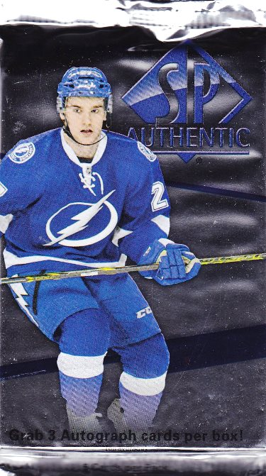 2014-15 UD SP Authentic Hockey Hobby Balíček