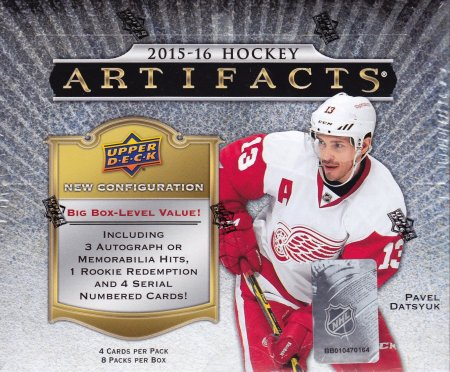 2015-16 UD Artifacts Hockey Hobby Box