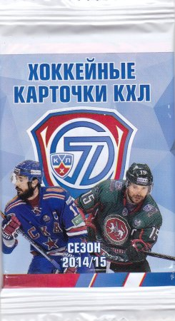 2014-15 KHL Collection Hockey Hobby Balíček