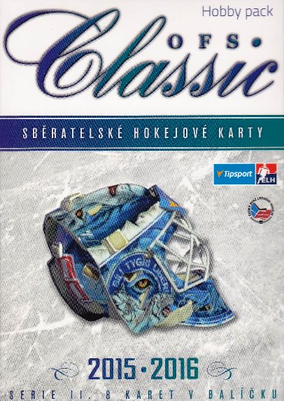 2015-16 OFS Classic Series 2 Hockey MONSTER HOBBY Balíček