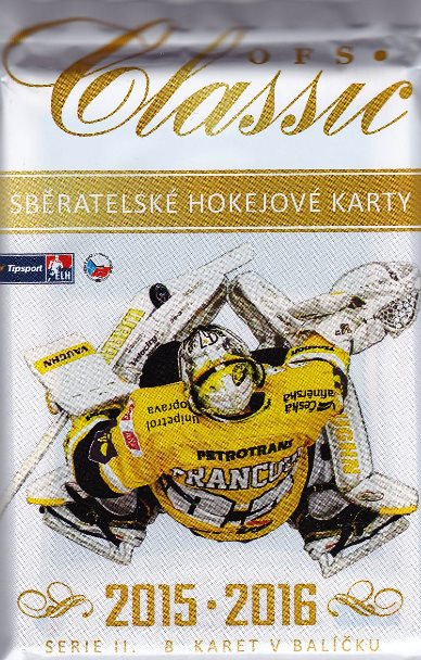 2015-16 OFS Classic Series 2 Hockey COLLECTOR´S Balíček