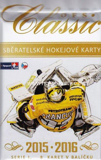 2015-16 OFS Classic Series 1 Hockey Collector´s Balíček