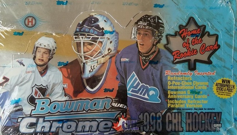 1998-99 Bowman CHL Prospect CHROME Hockey Hobby Box