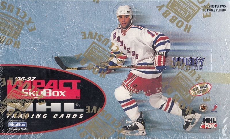 1996-97 SkyBox Impact Hockey Hobby Box