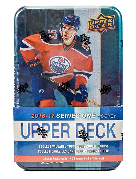 2016-17 UD Series 1 Hockey TIN Retail Box