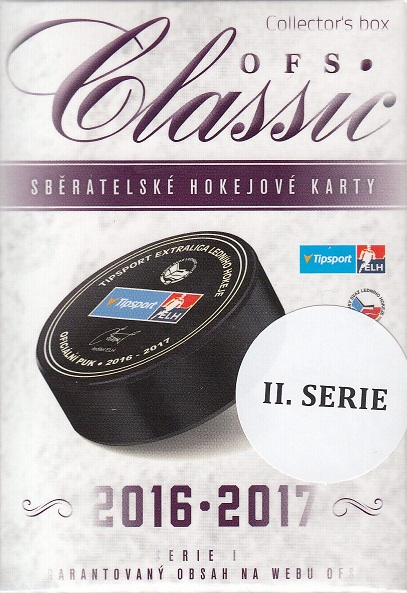 2016-17 OFS Classic Series 2 Hockey Collector´s Box
