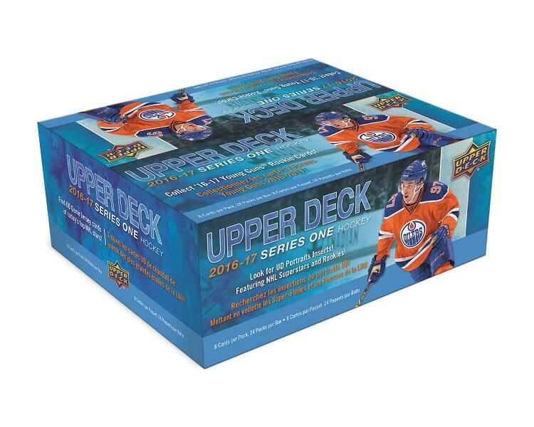 2016-17 UD Series 1 Hockey Retail Box