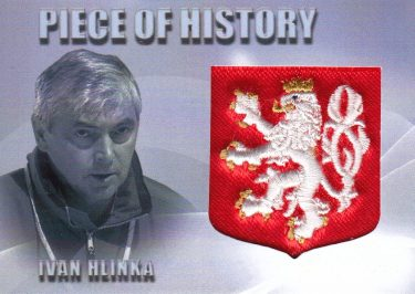 patch karta IVAN HLINKA 10-11 Great Memories Piece Of History