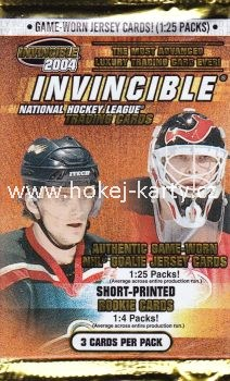 2003-04 Pacific Invincible Hockey Retail Balíček