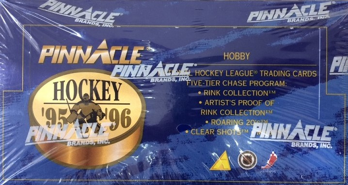 1995-96 Pinnacle Hockey Hobby Box