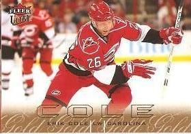 paralel karta ERIK COLE 09-10 Fleer Ultra Gold Medallion