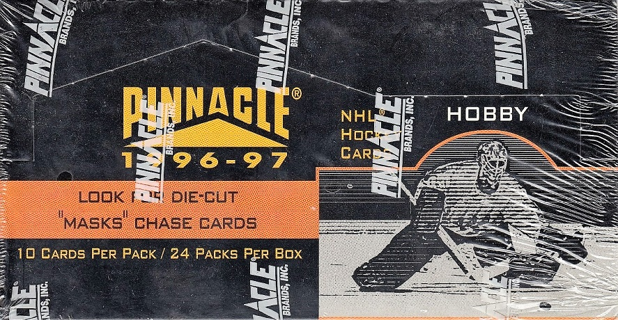 1996-97 Pinnacle Hockey Hobby Box