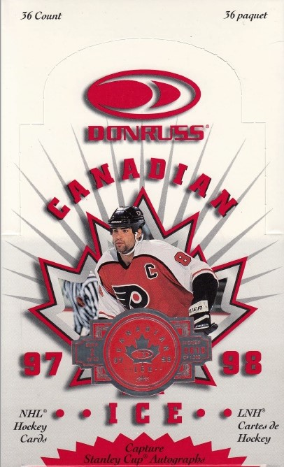 1997-98 Donruss Canadian Ice Hockey Hobby Box