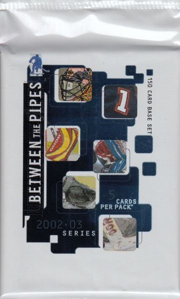 2002-03 ITG Between the Pipes HOBBY Balíček