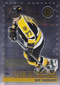 insert karta RAY BOURQUE 99-00 Topps Chrome Magic Moments číslo 276