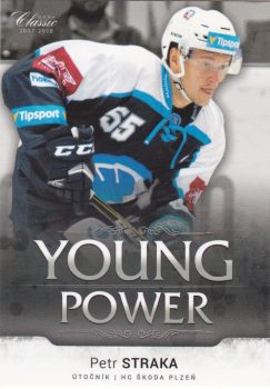 insert RC karta PETR STRAKA 17-18 OFS Classic Ser. 1 Young Power /99