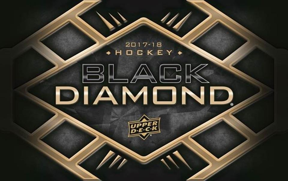 2017-18 UD Black Diamond Hockey Hobby Box