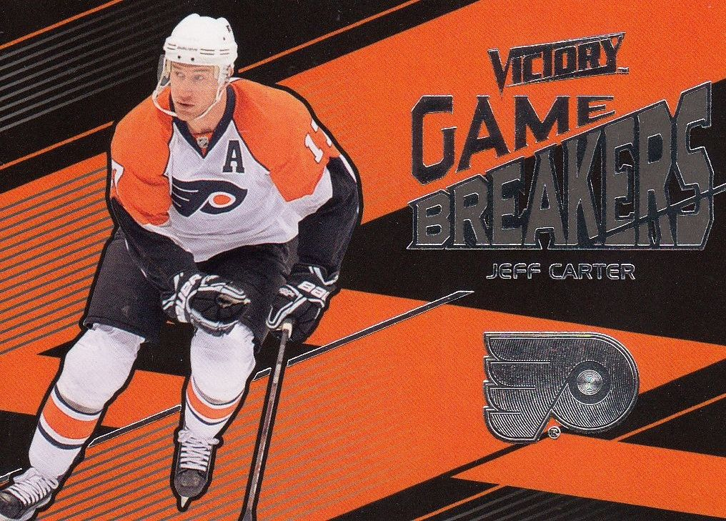 insert karta JEFF CARTER 10-11 Victory Game Breakers číslo GB-JC