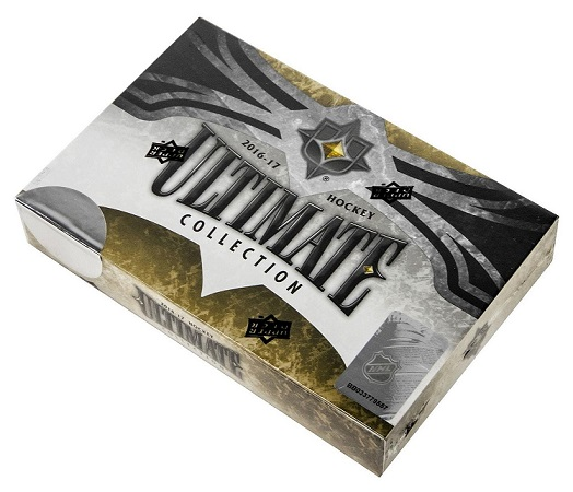 2016-17 UD Ultimate Hockey Hobby 8-box Case