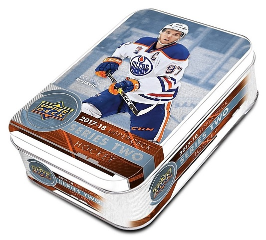 2017-18 UD Series 2 Hockey Tin Retail Box