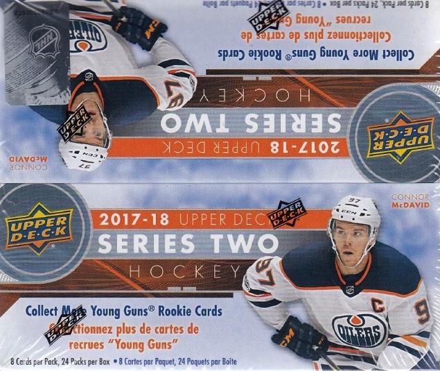 2017-18 UD Series 2 Hockey Retail Box