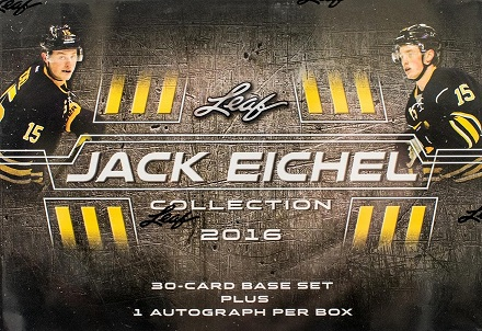 2016-17 Leaf Jack Eichel Collection Hockey Hobby Box