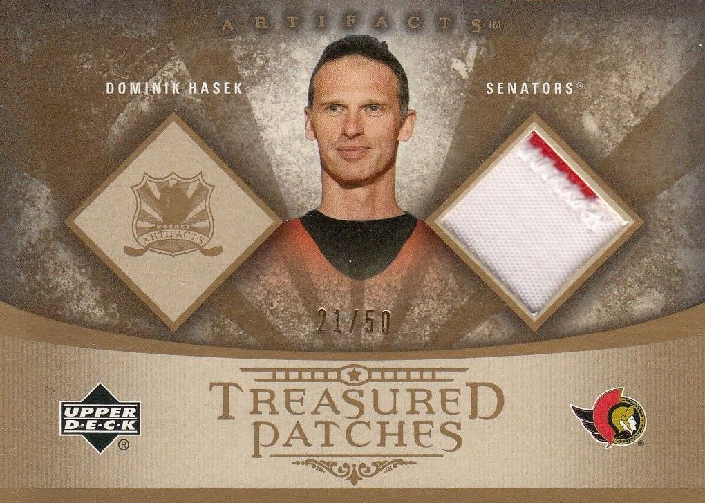 patch karta DOMINIK HAŠEK 05-06 Artifacts Treasured Patches /50
