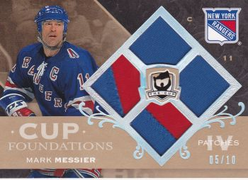 patch karta MARK MESSIER 07-08 UD The CUP Foundations Patches /10