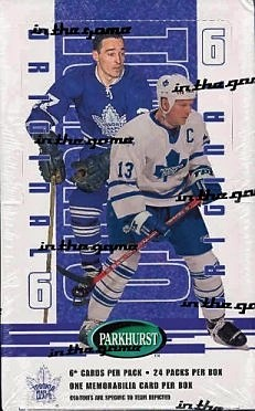2003-04 ITG Parkhurst Original Six Toronto Hockey Hobby Box