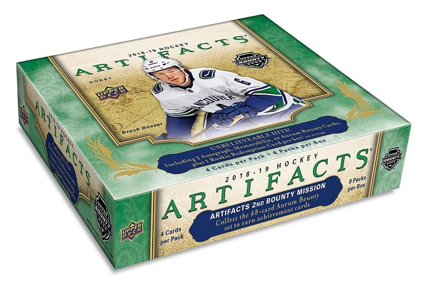 2018-19 UD Artifacts Hockey Hobby Box