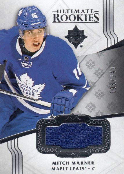jersey RC karta MITCH MARNER 16-17 UD Ultimate Rookies /249