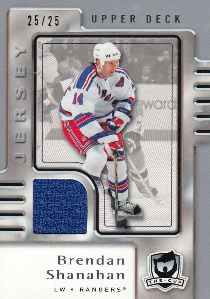 jersey karta BRENDAN SHANAHAN 06-07 UD The Cup Jersey /25