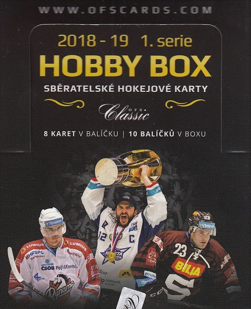 2018-19 OFS Classic Series 1 Hockey HOBBY Box