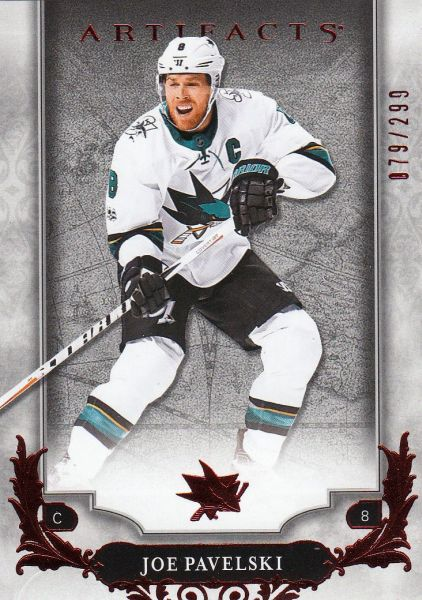 paralel karta JOE PAVELSKI 18-19 Artifacts Ruby /299