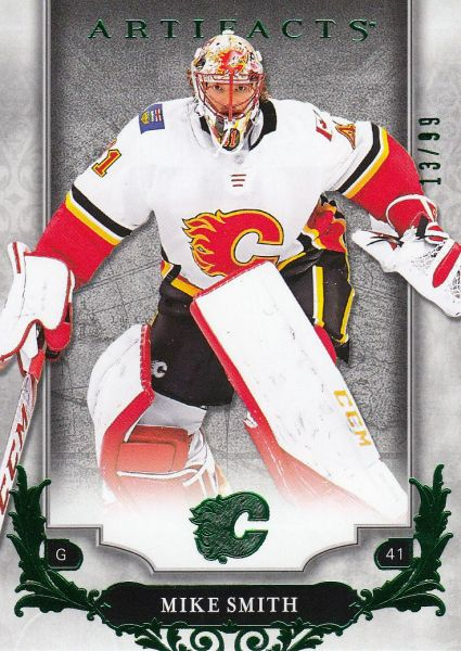 paralel karta MIKE SMITH 18-19 Artifacts Emerald /99