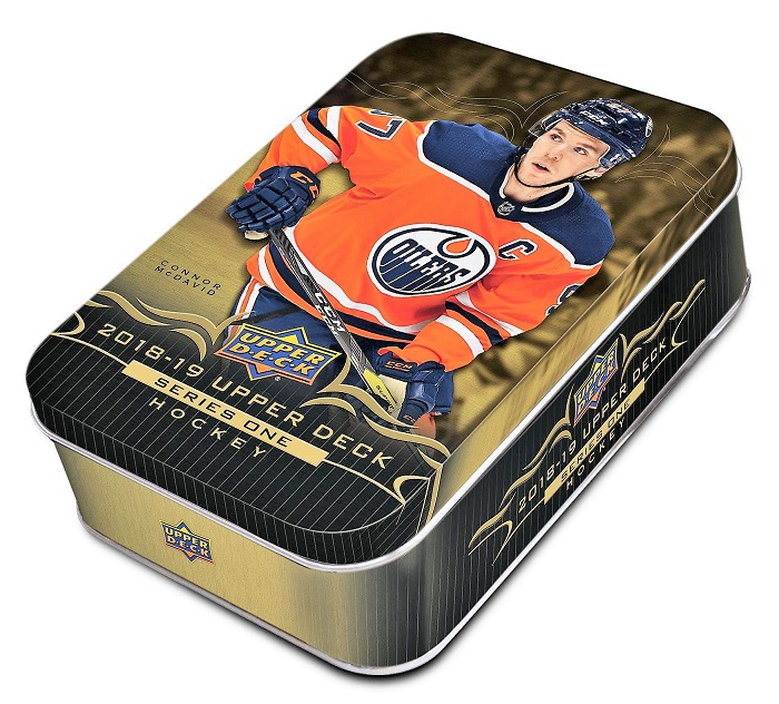 2018-19 UD Series 1 Hockey Retail TIN Box