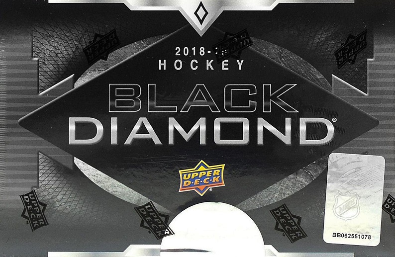 2018-19 UD Black Diamond Hockey Hobby Box