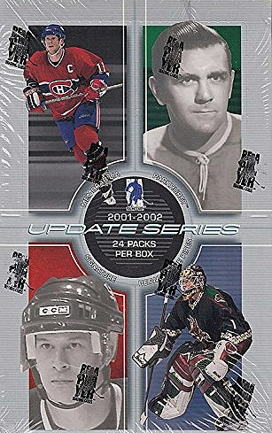 2001-02 ITG BAP Update Series Hockey Hobby Box