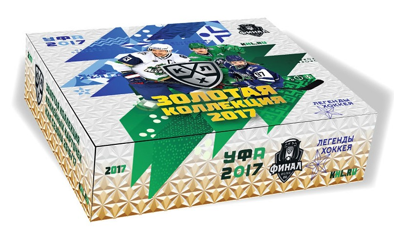 2017-18 KHL GOLD Collection Hockey Hobby Box