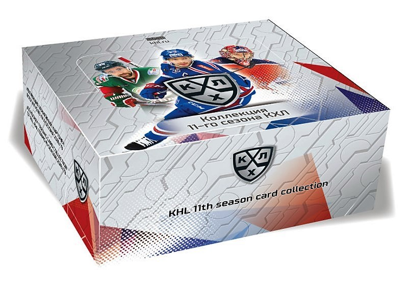 2018-19 KHL Collection 11th Season Hockey Hobby Box