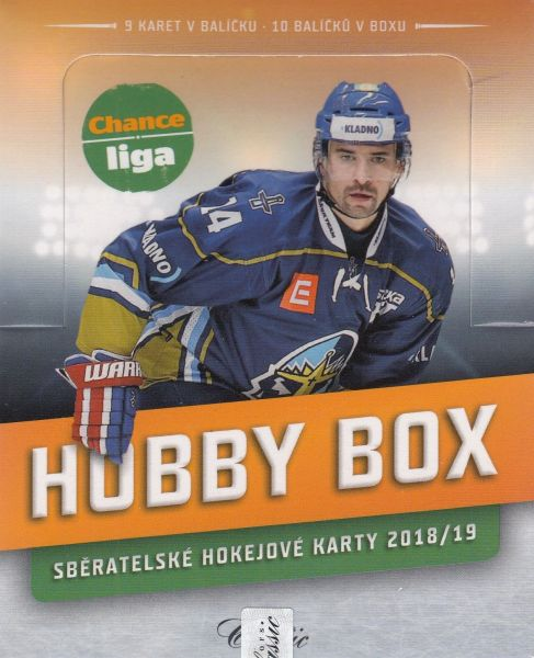 2018-19 OFS Chance Liga Hockey HOBBY Box
